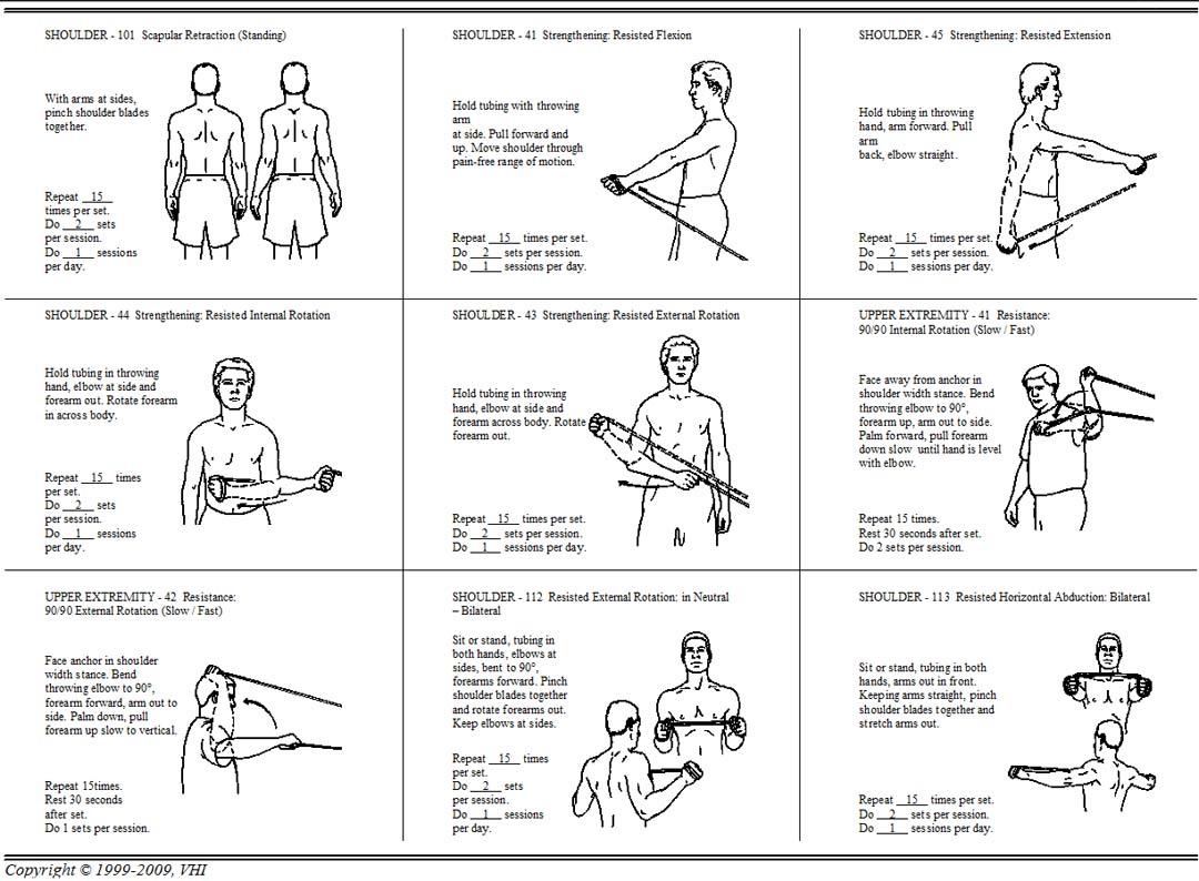 Tubing Exercises for Baseball Players