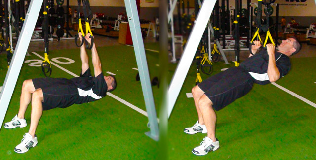 TRX Low Row