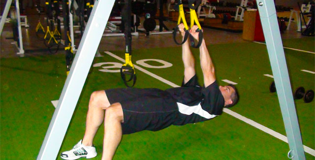 TRX Low Row for Baseball