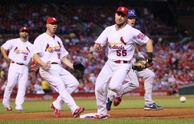 Backing Up Bases in Baseball
