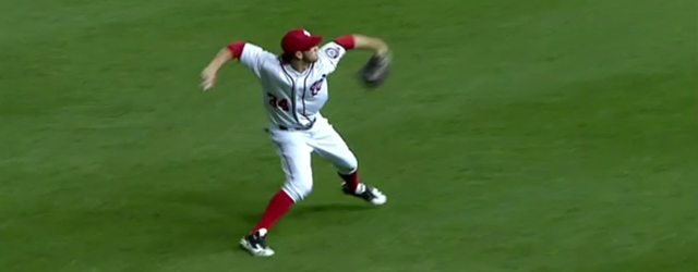 Bryce Harper's Guide to Throwing a Runner Out at Home Bryce Harper Outfield