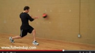 Two more med ball exercise videos for baseball players.